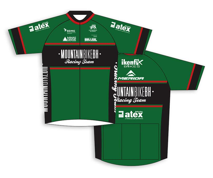 Camisa oficial do Mountain BIke BH Racing Team